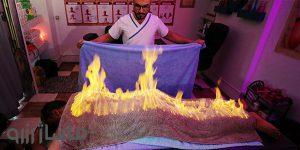 ماساژ آتش